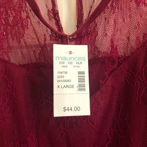 Maurices Dresses - Maurice's lace Dress